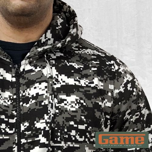 Hunting Shooting Fishing Mens Camouflage Trek Hoodie Top