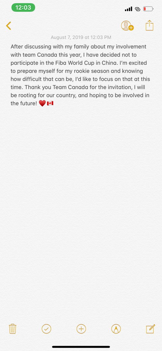 Thank you God for the opportunity and best of Luck to the SMNT 🇨🇦 https://t.co/z7ftaIggFP