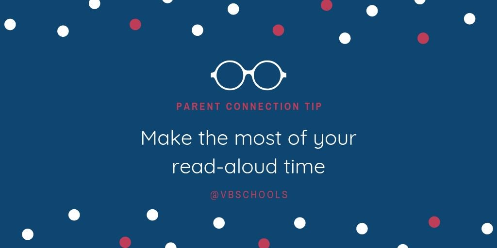 Parent Connection Tip of the Day: Make the most of your read-aloud time - bit.ly/2M6lXOv
