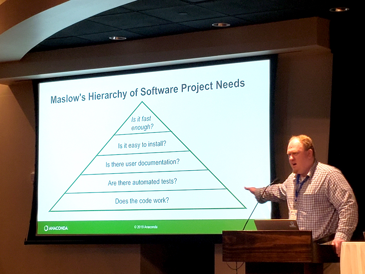 Seibert Heirarchy of Needs SciPy 2019