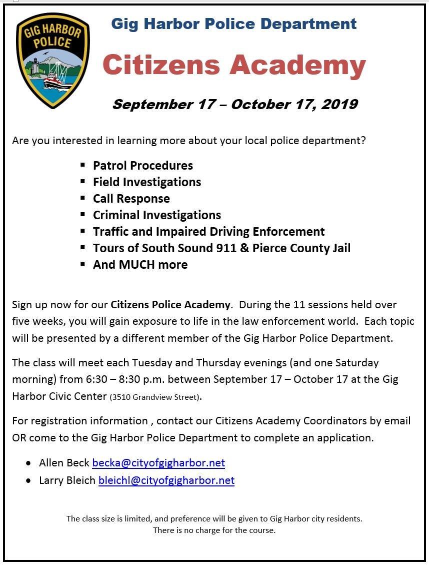 Gig Harbor Police (@GigHarborPolice) | Twitter