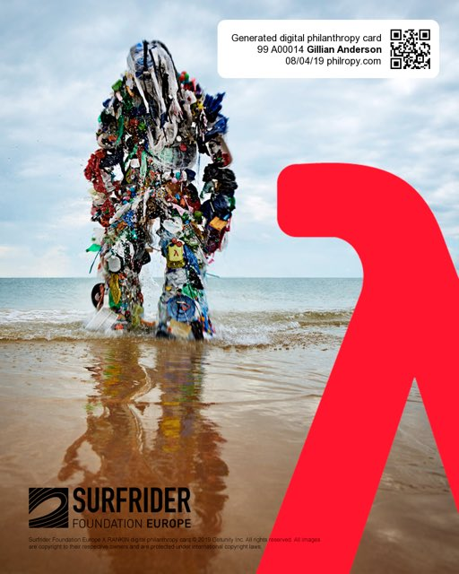 Join me in supporting @Surfrider for the fight to preserve our oceans. Buy a digital philanthropy card for $2.99 at philropy.com/monster and show that you too want this plastic monstrosity to end. #PlasticMonster @philropy