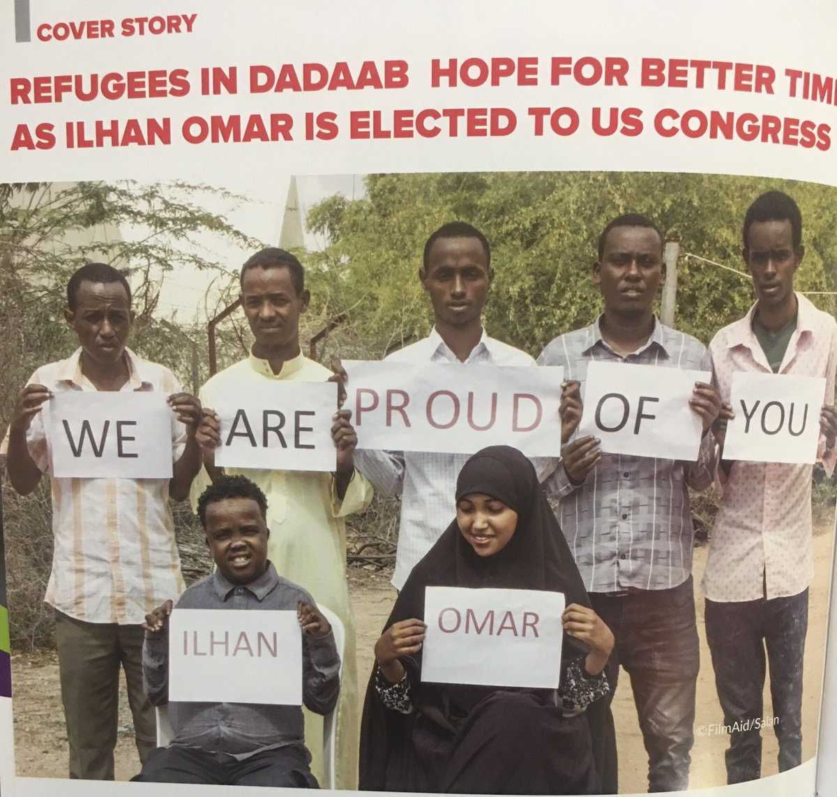 We are all proud of her! @IlhanMN