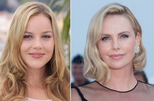 HAPPY BIRTHDAY !  Abbie Cornish  and  (the awesome) Charlize Theron