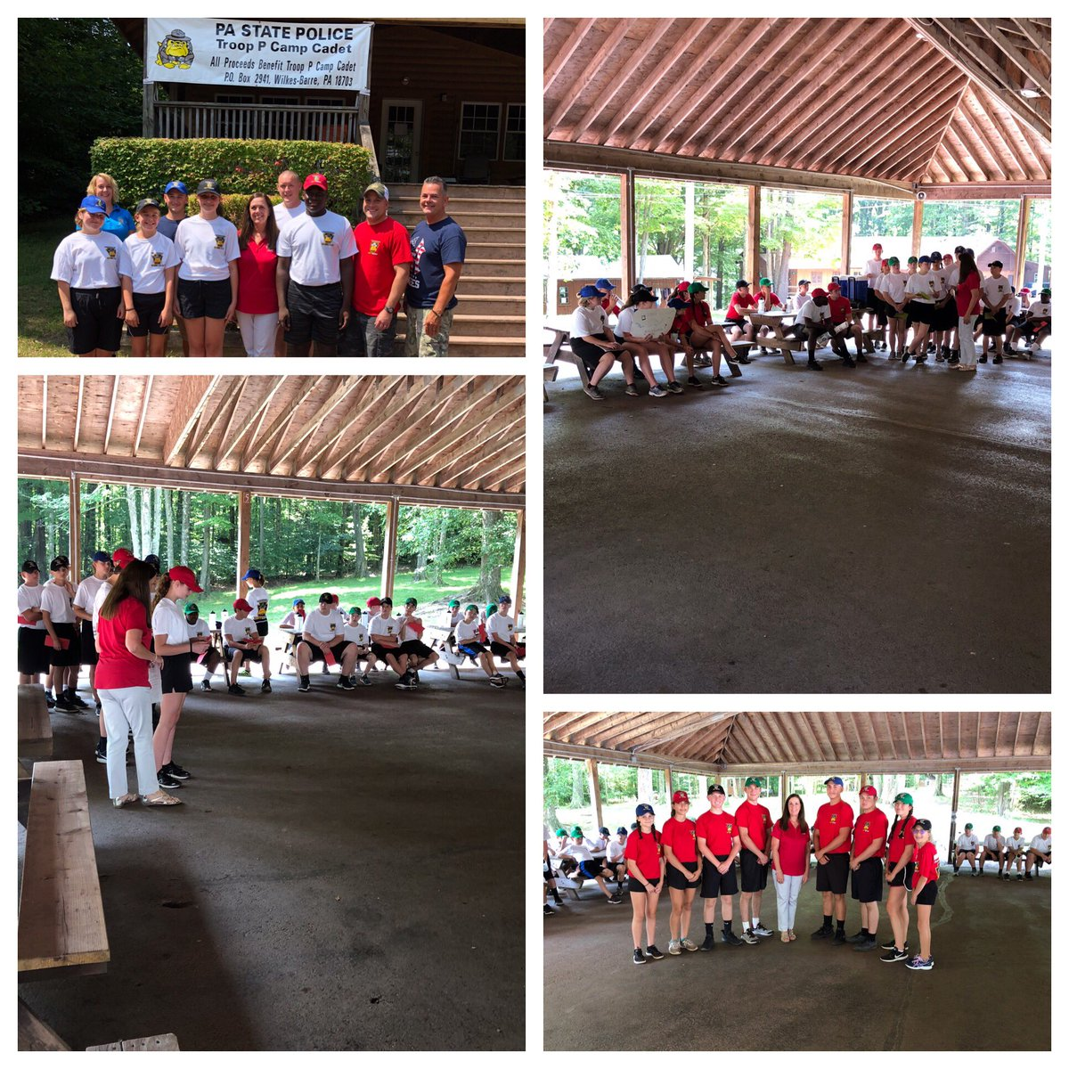 Always glad to join the kids participating in @campcadet to talk about responsible citizenship & civic engagement.