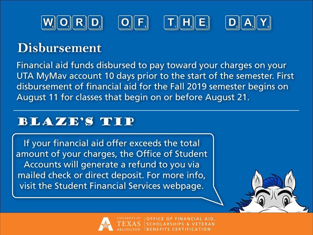 UTA Financial Aid & Scholarships (@UTAFAO) | Twitter