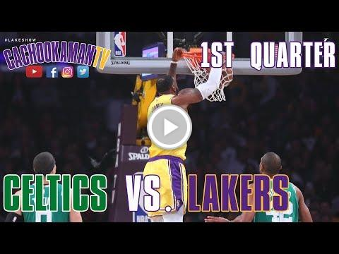 1st Quarter Team Highlights - Celtics vs. Lakers - March 9, 2019 https://t.co/wNFSuRLjfE #staged https://t.co/bt4r9tH1wi