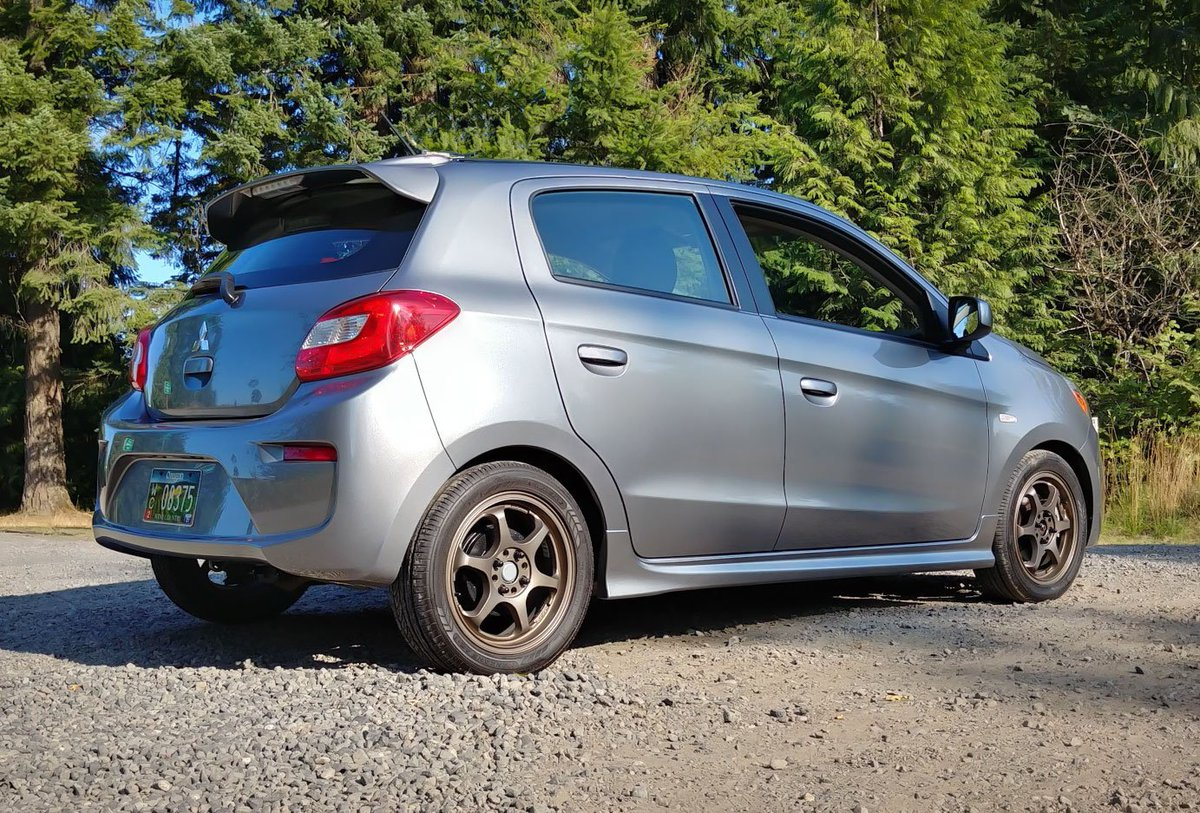 We know the #Mitsubishi Mirage isnt known as the enthusiasts choice, but there are a few things you can do to make the Mirage more fun. subcompactculture.com/2019/08/top-3-…