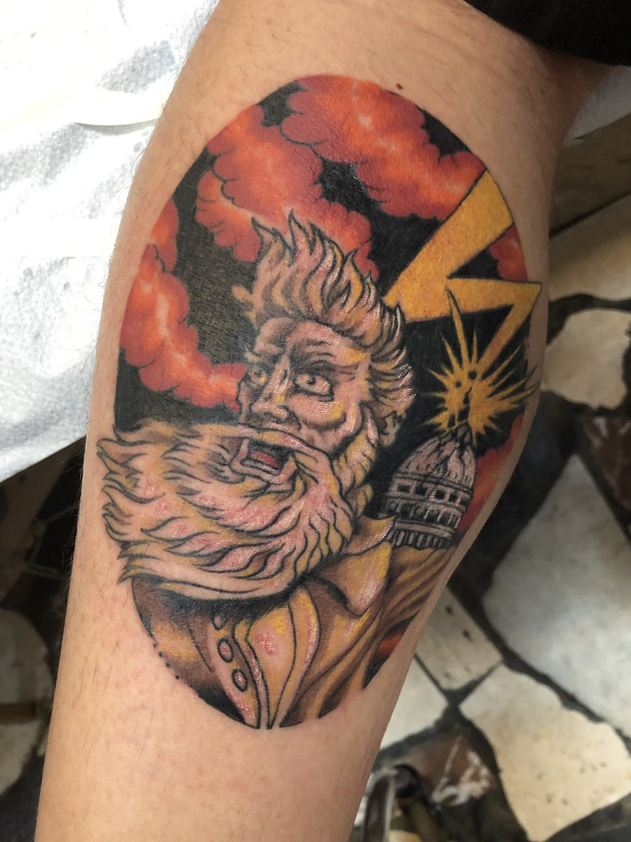John R Stanton On Twitter Latest Tattoo John Brown With