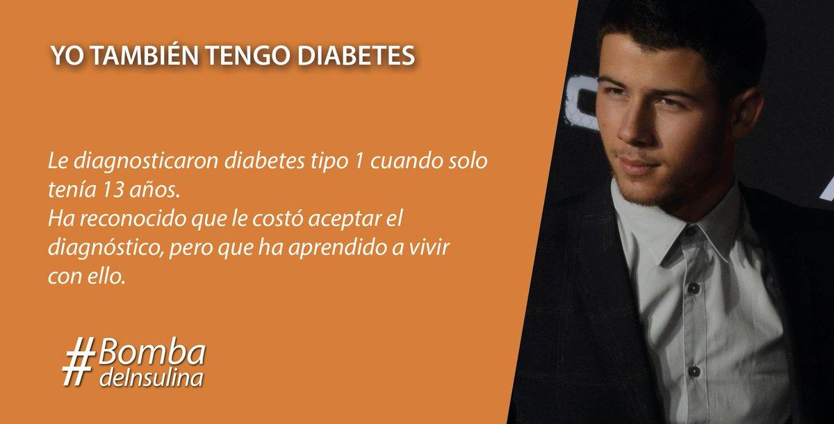 nick jonas tiene diabetes tipo 2