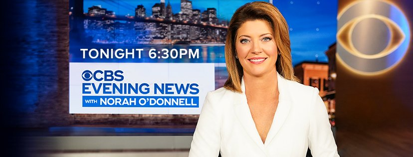 Watch the #CBSEveningNews with #NorahODonnell weeknights after #CBS6 News at 6 p.m. https://t.co/y62hVSZcpH