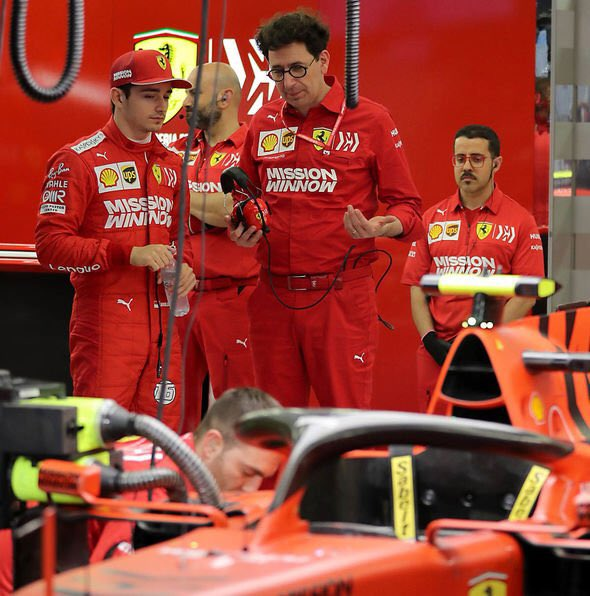 """Even Mattia Binotto seems a quiet type. Does he never get angry?  @Charles_Leclerc """"It's not true. Mattia is a tough guy when he wants to, but he's good at managing emotions. And that's what a team needs """"#F1 #Charles16"""