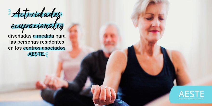 test Twitter Media - 👌Las actividades recreativas o de ocio son muy importantes para el #EnvejecimientoActivo. En los centros asociados de AESTE los residentes pueden elegir la actividad que más se adecue a su forma física y cognitiva, para diseñar talleres personalizados. https://t.co/PDsfVDALfu https://t.co/yYRtTJKLyR