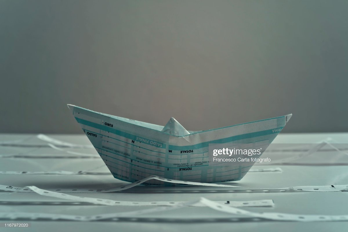 Tax time #tax #time #finance #boat #papercraft #paperboat