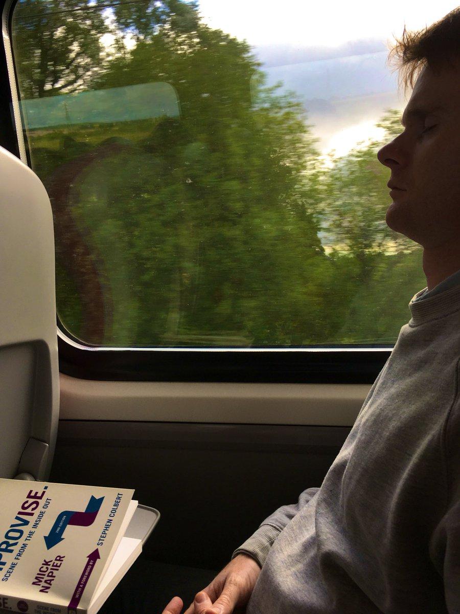 Edinburgh bound. Ready for anything.