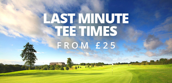 Take the afternoon off and book a last minute tee time from £25 🏌️♂️☀Simply book online, pack your clubs and make your way over for some quality time on the fairways - http://bit.ly/2MRF4ti