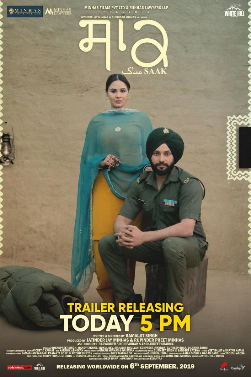 #Saak Trailer coming today !