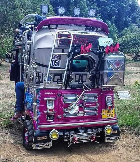 Doulli's Choice Modified Three Wheel Club @Sdoull #SLvNZ #Galle