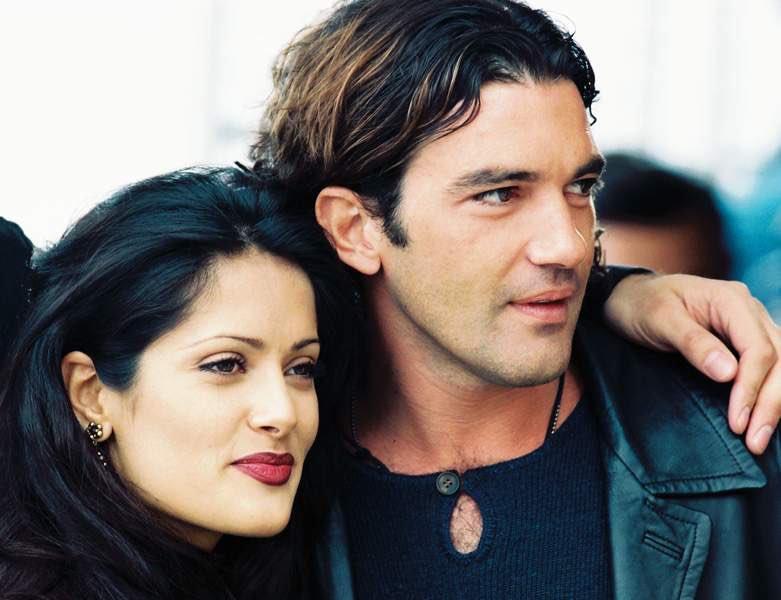 Image result for Salma Hayek and  Antonio Banderas