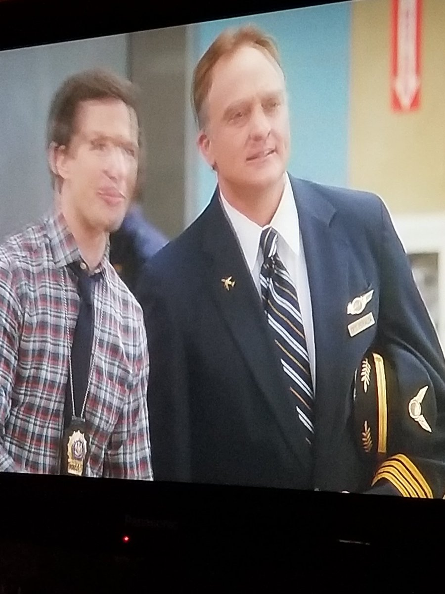 @WhitfordBradley IS ON #Brooklyn99 ? @AndySamberg is HILARIOUS as ALWAYS, but it just got AWESOME! #NewToMe Thanks @hulu