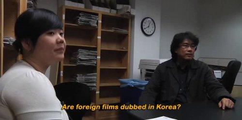 #Parasite Director Bong Joon-Ho on subtitles.
