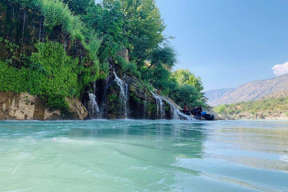 Good morning! This is Khalona resort in Barzan, #Erbil province.  📸 Sarwan Walatzheri https://t.co/Rns7RaoTQM