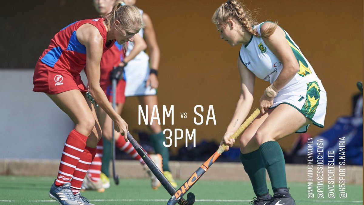 NAM vs SA today at 3pm #AFCON2019  #RoadToTokyo @FIH_Hockey<br>http://pic.twitter.com/DTvmppjUGT