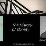 Image for the Tweet beginning: 'The History of Comity' is