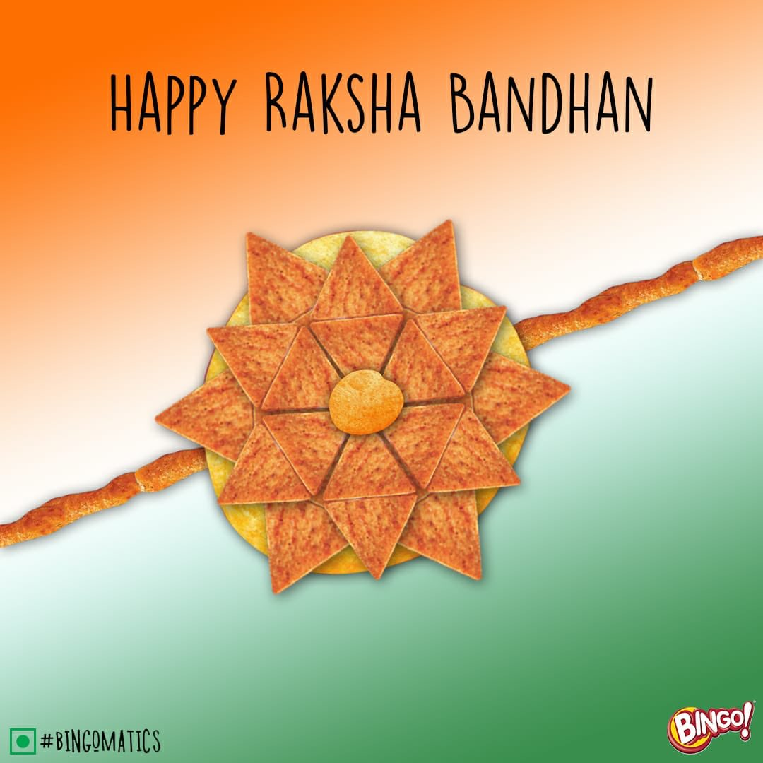 Bingo! wishes everyone a crazy Rakhi, and a happy independence day.