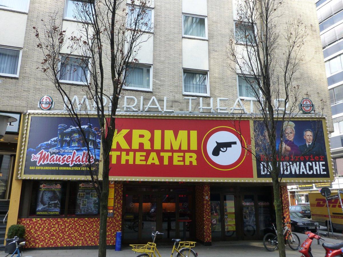 Das #Imperialtheater auf der #Reeperbahn in #StPauli ist DAS #Krimitheater in #Hamburg. Hier wurden #Krimis von #EdgarWallace und #AgatheChristie wie #DerFroschMitDerMaske und #DerHexer auf die Bühne gebracht: http://www.bilder-fotos-hamburg.de/hamburg-theater/bilder-fotos-imperial-theater-hamburg/… #theaterhamburg #theaterinhamburg #theaterpic.twitter.com/WFHo5Gllxa