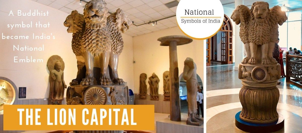 Have you ever wondered, what made a newly independent nation in the 20th century go back to an ancient Indian empire / a #Buddhist symbol for inspiration for its national identity? bit.ly/2Tx4a3S India, it's been 73 years since #IndependenceDay 🇮🇳