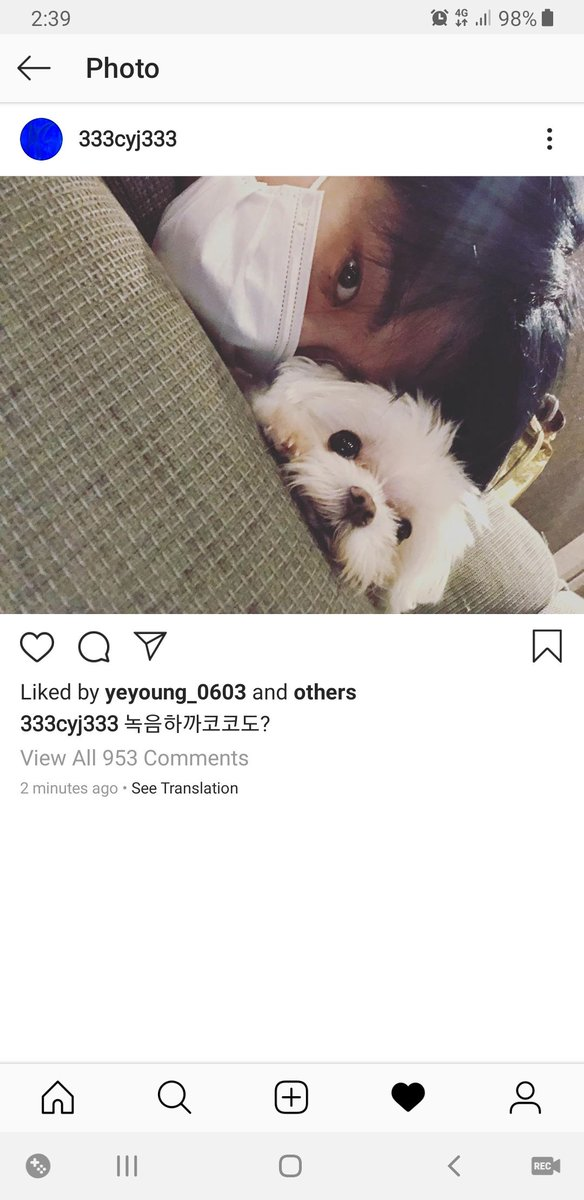 AARRRGH!! #Youngjae just posted on instagram  with Coco  [IG Post] #GOT7_SPINNINGTOP   #GOT7_BETWEEN_SECURITY_AND_INSECURITY  #GOT7_KEEPSPINNING  #갓세븐   @GOT7Official #GOT7  <br>http://pic.twitter.com/eCtnn0G74Z