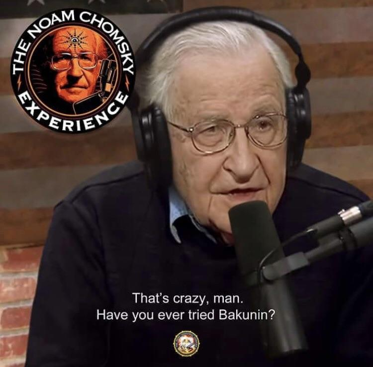 C'mon @joerogan @JoeRoganEXP @joerogancomedy you had @CornelWest and @BernieSanders , how about completing the trifecta with the Ultimate Chad #NoamChomsky <br>http://pic.twitter.com/pWHmUZVzkR