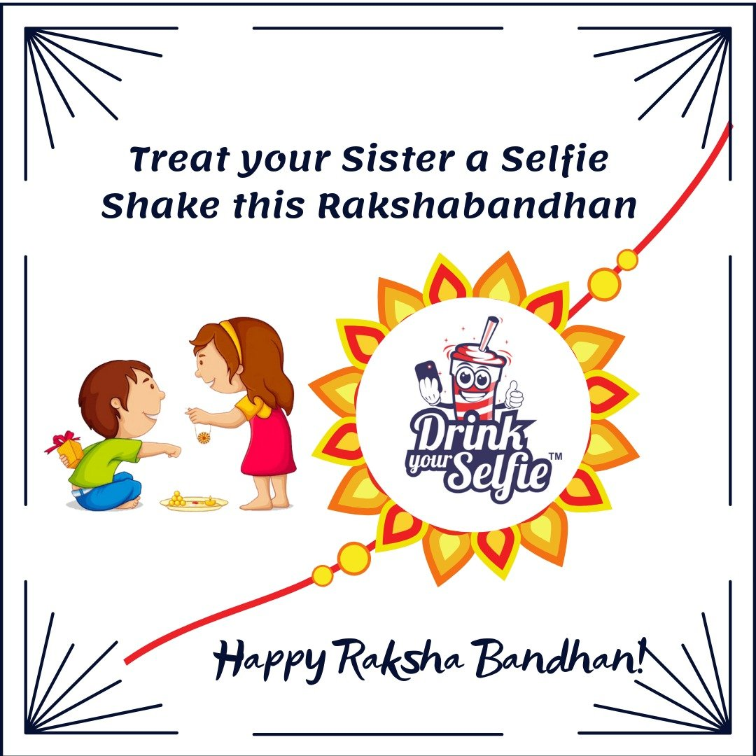 On this wonderful occasion, celebrate the bond of love with all your heart. Wish you a Happy Raksha Bandhan #DrinkYourSelfie #rakshabandhan #rakshabandhancontest #rakshabandhanspecial #RakshabandhanCelebration #Share #Rakshabandhan #Love #Brother #Sister #Care #Friendship