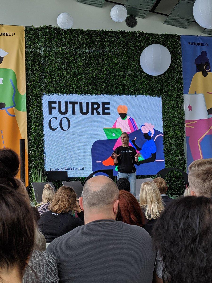 Kicking off a great agenda in at the 1st FutureCo event here in #Parnu , #Estonia #futureco19