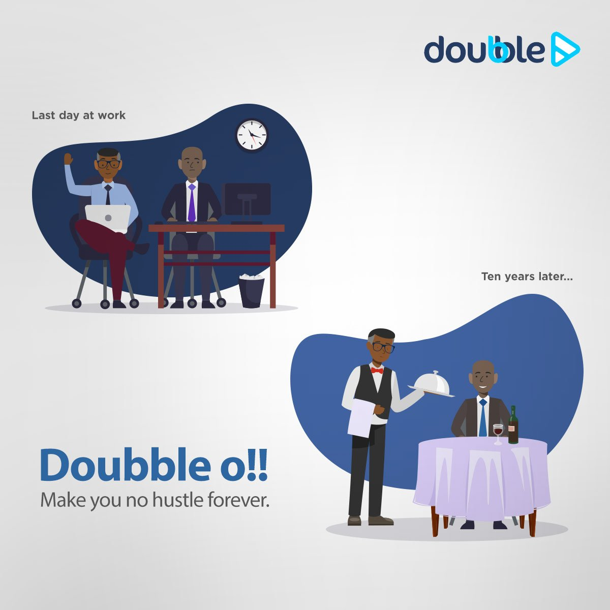 """Sterling Bank Plc on Twitter: """"We keep you going even when the benefits  stop. Experience long-lasting investment with Doubble. Get started today  with your Doubble investment. #Doubble… https://t.co/GmhSvb5mtx"""""""