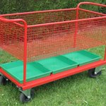 Image for the Tweet beginning: School trolleys and playground displays