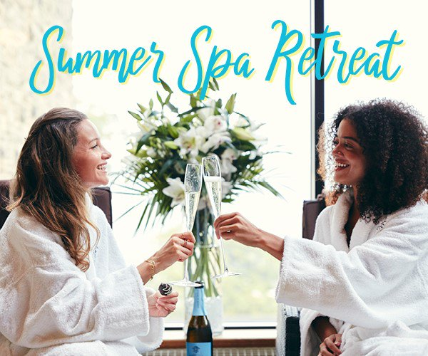 It's #NationalRelaxationDay today, which we think calls for a treat (tell us we're wrong!)💁♀️The Summer Spa Retreat is the *ULTIMATE* relaxation experience - You get a spa day, dinner, bed & breakfast from £119 per person!Book your treat easily online - http://bit.ly/2GL7yCa