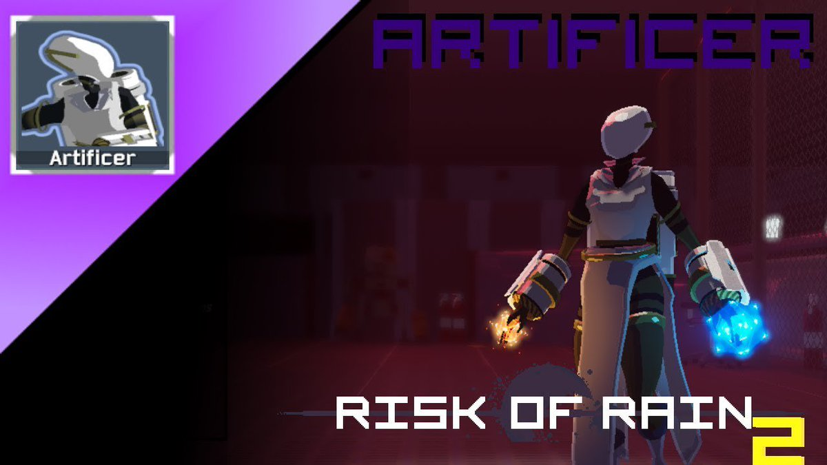 All about the ARTIFICER in Risk of Rain 2  Link:  #artificer #ArtificerGuide #ChargedNano-Bomb #HowtoplaytheArtificer #mage #NewSurvivor #RiskofRain #RiskofRain2 #ror #ror2 #  #RiskofRain2