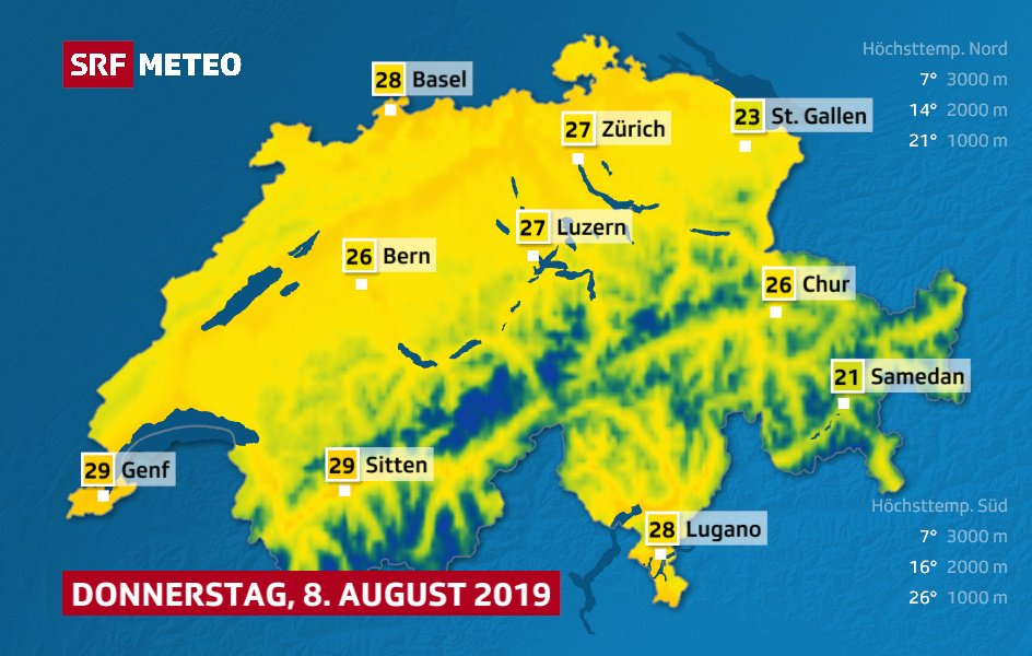 SRF Meteo on Twitter: \