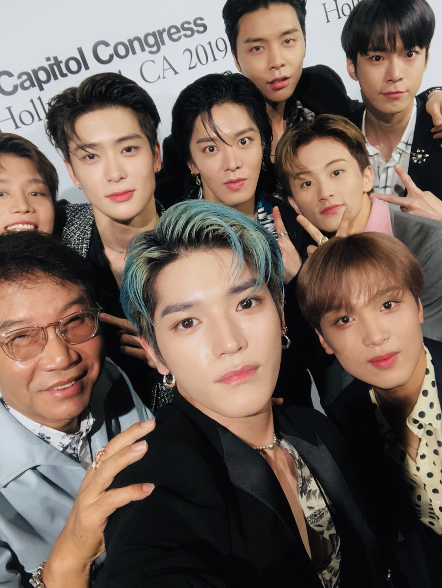 at Capitol Congress!!!✌️#NCT127 #NCT #CMG #capitolcongress @capitolrecords