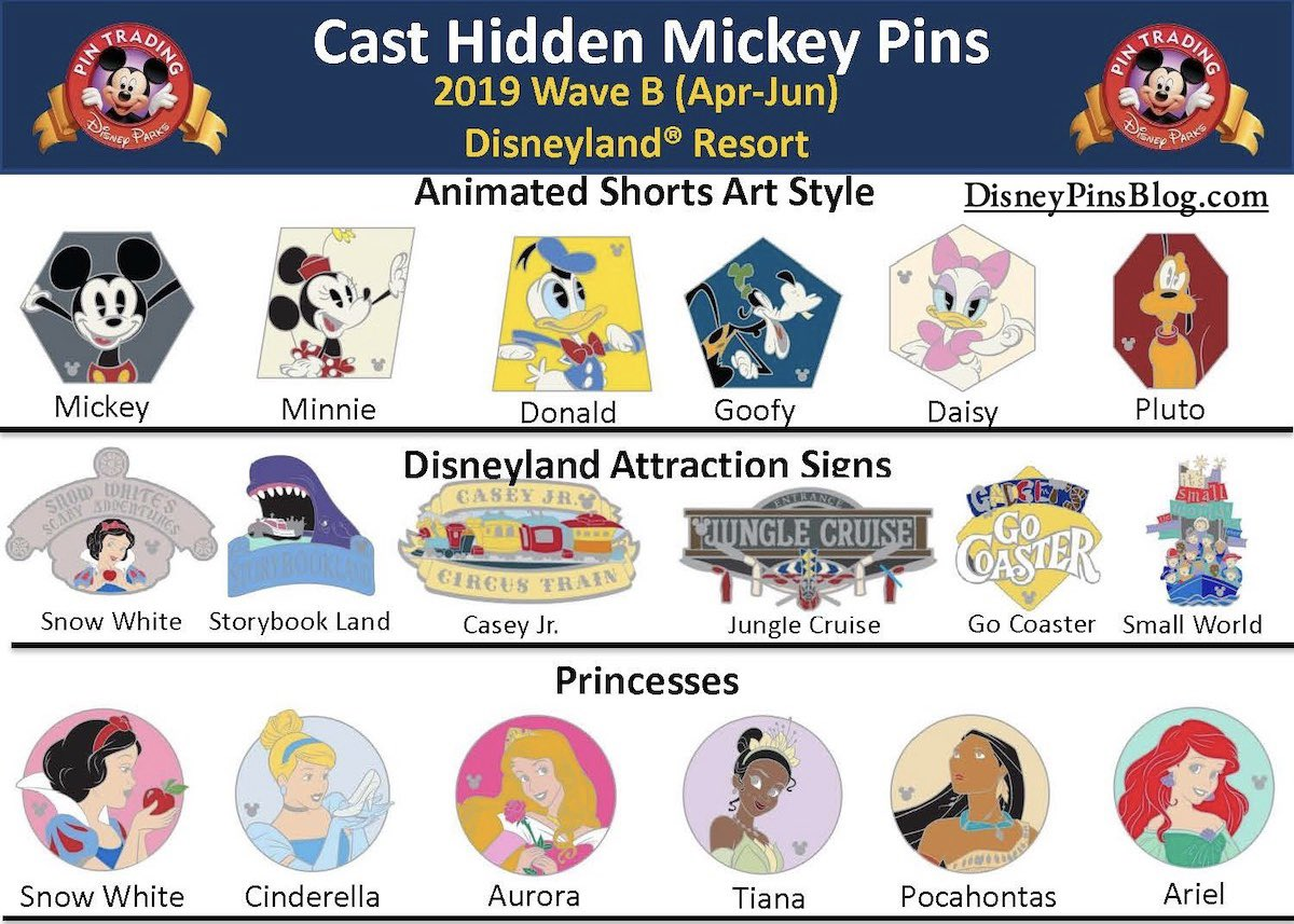 Disney Attractions signs hidden Mickey 2019 wave b it/'s a small World pin