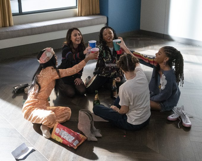 Grownish Season 2 Episode 21 Zoey, Ana, Nomi, Jazz, and Sky