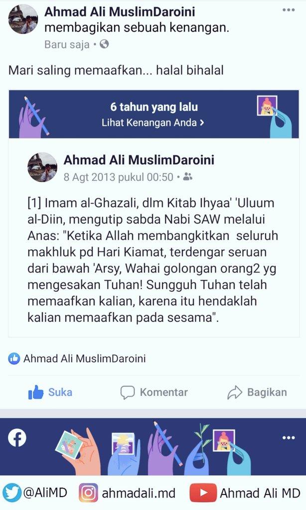 Saling memaafkan... #HalalBihalal