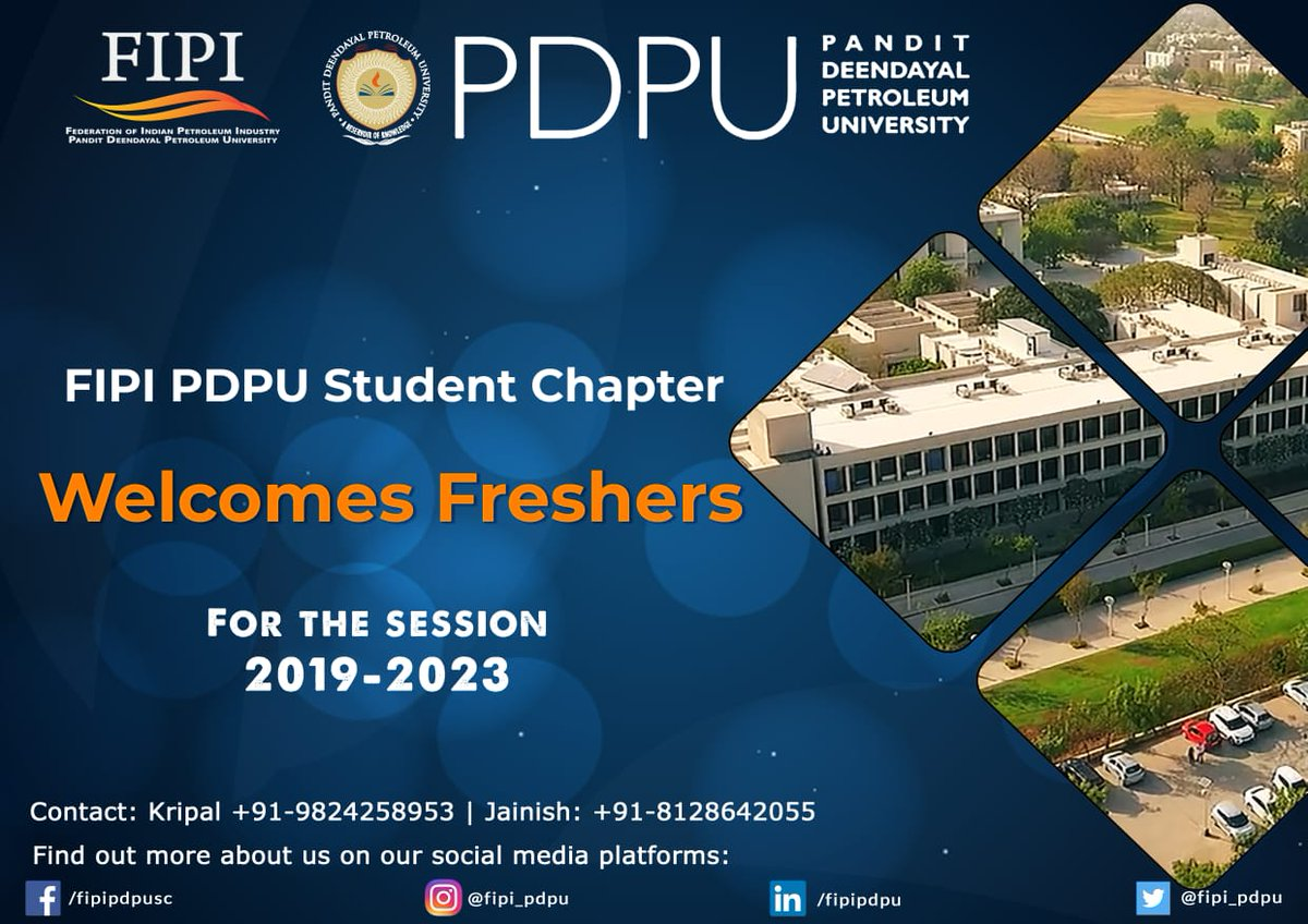 FIPI PDPU Student Chapter - @fipi_pdpu Twitter Profile and