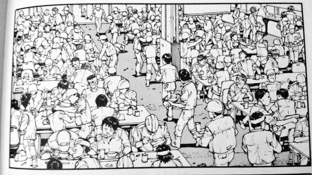 Curse Of The Usamummy On Twitter Kei In The Original Akira Manga Vs Kaneda In The Akira Film