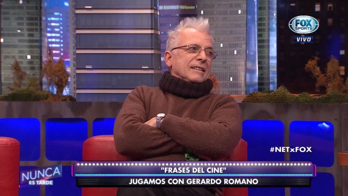 Gerardo Romano Frases Cine Netxfox Gerardo Romano Animó