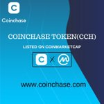 Image for the Tweet beginning: 👏👏👏Congratulations to Coinchase (CCH) list