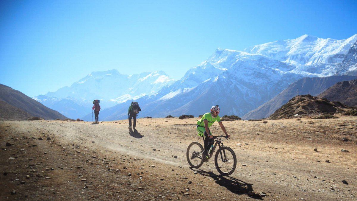 The highest mountain bike race on earth! Travelling from Besi Sahar to Pokhara via the Annapurna Circuit and crossing the Thorang La Pass at 5,416m above sea level.For more info: http://www.mtb-worldwide.com/the-yak-attack #VisitNepal2020 #Onceisnotenough #NepalNow #Lifetimeexperience