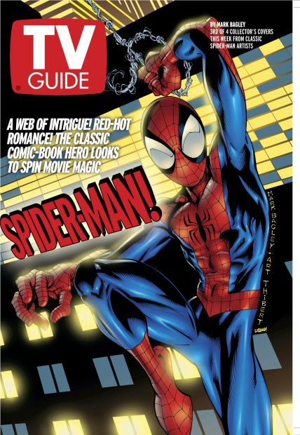 Classic TV GUIDE Cover (2002)#television #marvel #popculture
